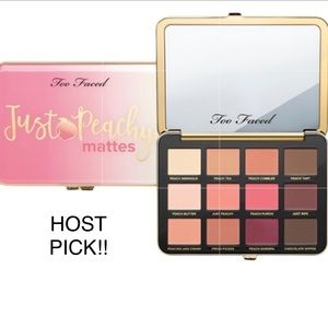 ⬇️ Too Faced Too Peachy Just Peachy Mattes Palette